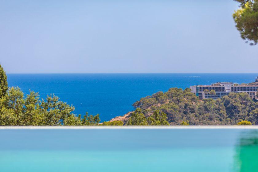 Villa s vidom na more